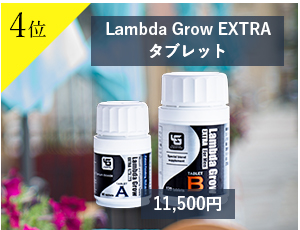 4位Lambda Grow Plaisir 1ヶ月分